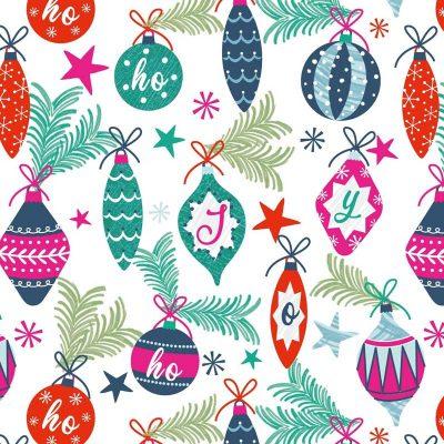 Craft Cotton Co - Colourful Christmas - Christmas Joy 2799-03