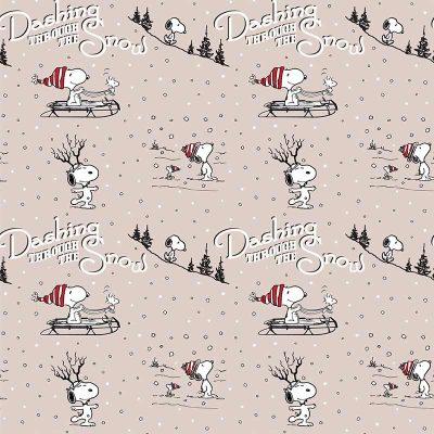 Craft Cotton Co - Snoopy's Christmas Fun - Dashing Through The Snow 2804-05