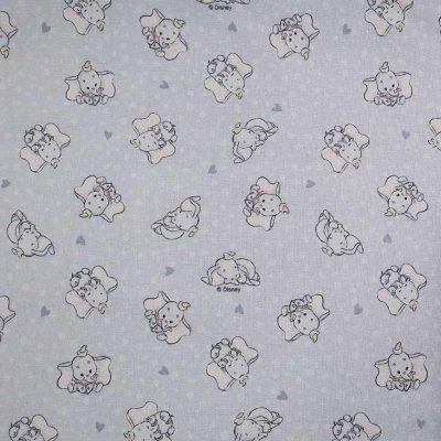 Disney's Dumbo Cotton Fabric