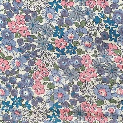 Sew Cool Pink Floral Cotton 9765-3