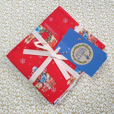Craft Cotton Co – Peter Rabbit Christmas Traditions - Fat Quarter Bundle 2802-00
