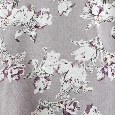 Sew Cool Purple Flowers Cotton 9710-3