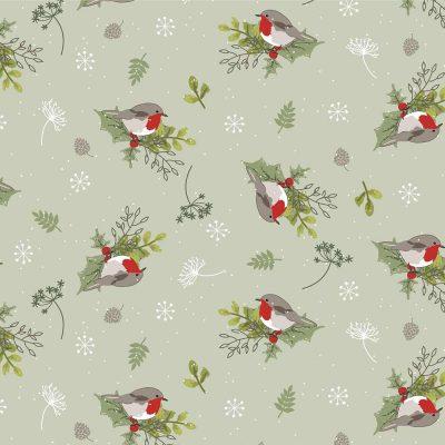 Craft Cotton Co - Christmas Hare & Robin - Christmas Robin 2797-05