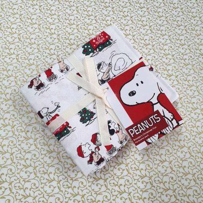 Craft Cotton Co – Snoopy's Christmas Fun - Fat Quarter Bundle 2804-00