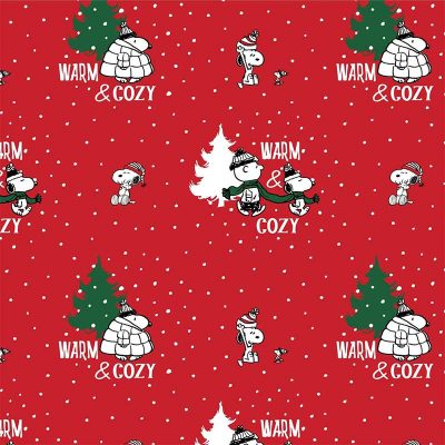 Craft Cotton Co - Snoopy's Christmas Fun - Warm & Cosy 2804-04